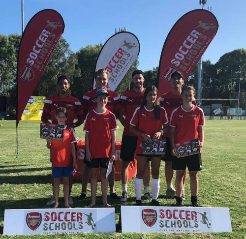 Arsenal Soccer School Camp 2018
